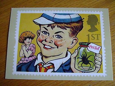 First day Issue-2 Feb 1993-London-'William' Books on post card with pic of stamp