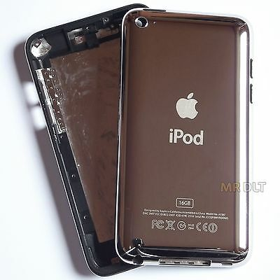 iPod Touch 4 16GB Back Housing 4th Generation Silver Metal Rear Case Cover 16 UK