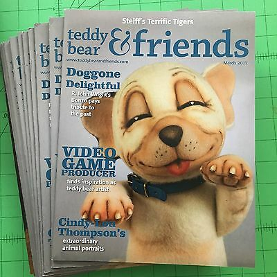 Teddy Bear And Friends Magazine March 2017, just arrived today!