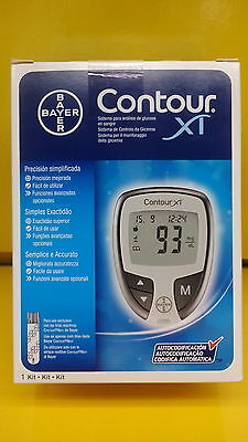 bayer contour XT blood glucose monitor/meter