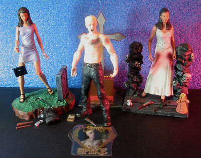 DRUSILLA + SPIKE + CORDELIA - LOT Buffy the Vampire Slayer action figures