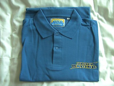 andreas jonsson speedway polo shirt xl new
