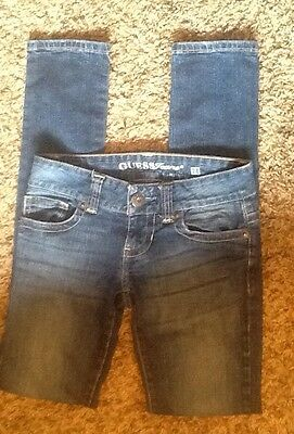 Womens Guess Jeans Daredevil Skinny Leg Size 24/31