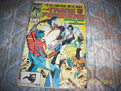 Marvel Transformers # 2 good condition