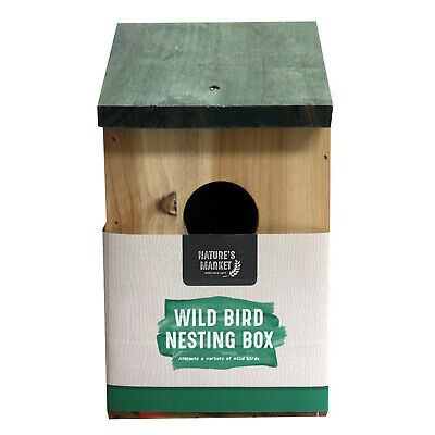 Wild bird nesting box offer buy 1 2 or 3 boxes with multi buy discounted deals