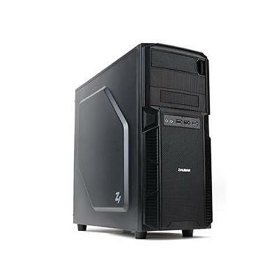 Zalman Z1 Midi-Tower USB 3.0 Mattschwarz Gaming Custom USB3.0