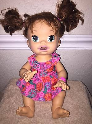 2014 Baby Alive Interactive English/spanish Speaking Doll