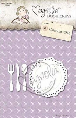 Magnolia Stamps DooHickey - Plate and Cutlery - RC17-01