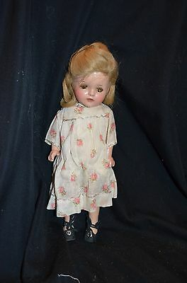 Vintage Composition Ideal Shirley Temple Doll ?? 13 in.