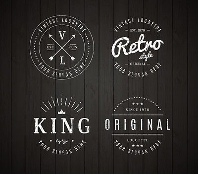 Custom Retro | Vintage Logo Design