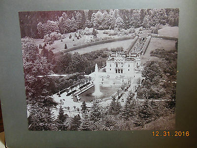 Vintage Cabinet Card 11 X 14 Schloss Linderhof Palace Bavaria Germany