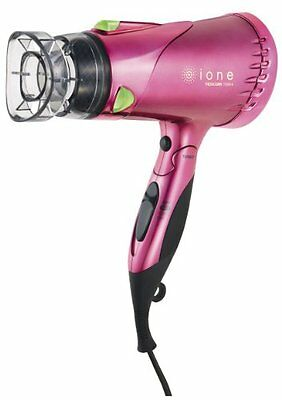 Tescom hair dryer ione negative ion shiny pink TID910-P JAPAN F/S Tracking