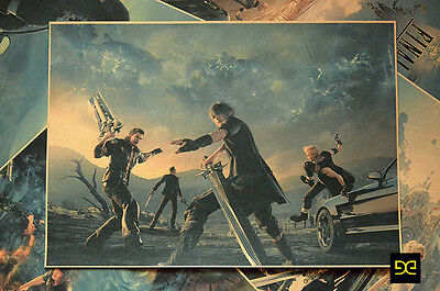 Final Fantasy XV Noctis Lucis Caelum Cool Game Poster Wall Painting Gift #B