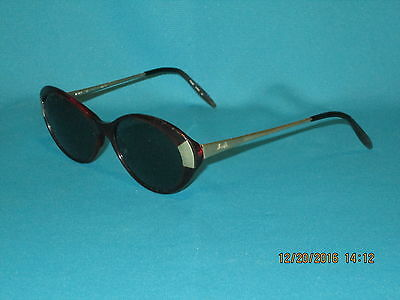 Vintage SILHOUETTE M1475 Red/Blue Green Women's Sunglasses 52mm