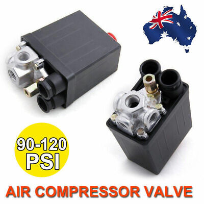 90-120 PSI Air Compressor Pressure Switch Control Valve Heavy Duty New Brand