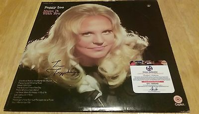 Peggy Lee Autographed Signed Make It With You Album Record Cover Ga Gai Coa
