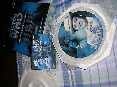 7Th Dr Who Plate - Sylvester Mccoy