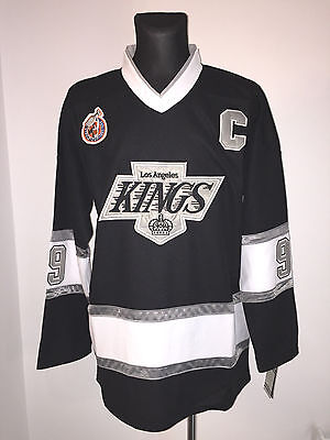 Los Angeles Kings Eishockey NHL 2016 Trikot Shirt Jersey NEU 99 GRETZKY (52/XL)
