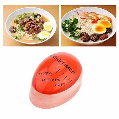 @Egg Perfect Color Changing Timer Yummy Soft Hard Boiled Eggs Cooking Kitchen@S