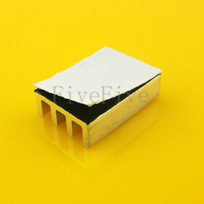 Heat Sink with Thermal Adhesive for Computer CPU Memory Chip IC 16*11*5mm
