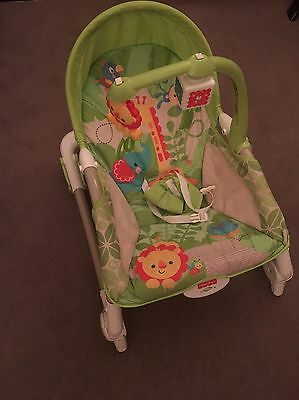 Fisher-Price rainforest friends Infant-to-Toddler Rocker and Seat