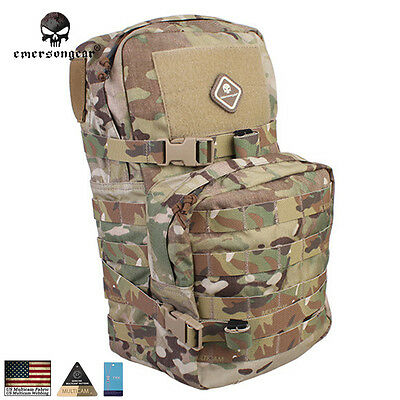 EMERSON Molle Modular Assault Pack w/ 3L Hydration Water Bags 8 Colors EM5816