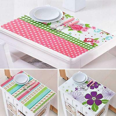 Table Mat Gift Protectors Flower Coasters Colorful Insulation Printed Pastoral