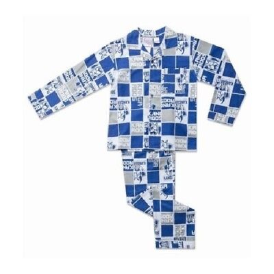 North Melbourne Kangaroos Official AFL Youth Winter Pyjamas BNWT
