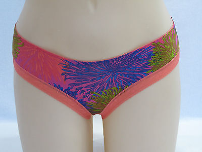 Bonds Ladies Microfibre Skimpy G String Thong Underwear size 16 Multi Print