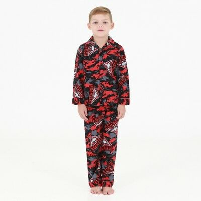 Essendon Bombers Official AFL Youth Winter Pyjamas BNWT