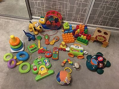 Baby Toddler Job Lot Of Activity Toys Bundle Fisher Price Little Tykes 0 12 M +