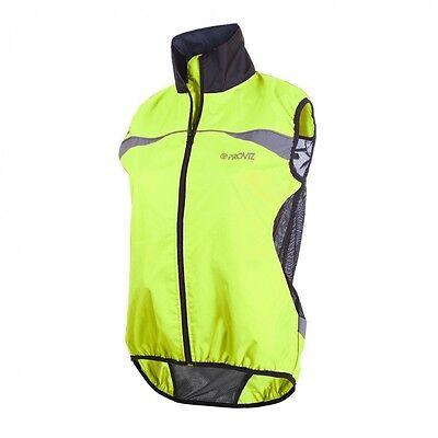 Yellow Proviz Gilet 14 - High Visibility - High Viz - Cycling, Running, Walking