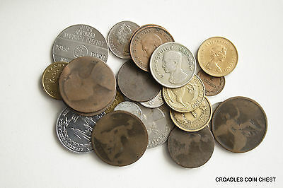 100 Grams  Of Mixed World Coin's General Mix Modern World #wo7