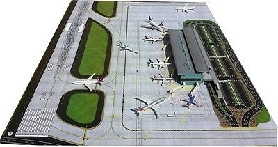 Geminijets Gjaps006 1/400 2-Piece Airport Mat Set (For Terminal)