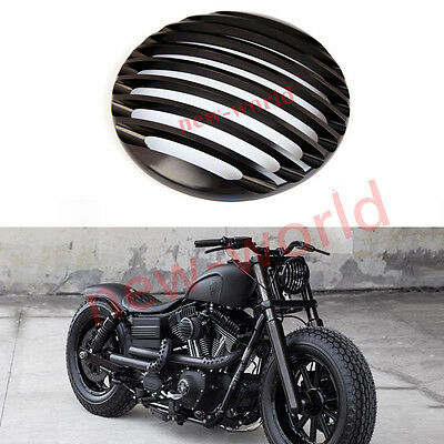 Round Aluminum Head Light Grill Cover For Harley Davidson Sportster XL 883 1200