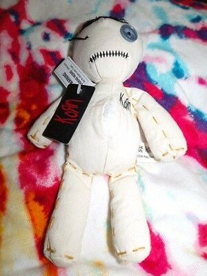 Rock, band korn , 2000, Issues Voodoo ,Doll - New w/Tags see pictures for flaws