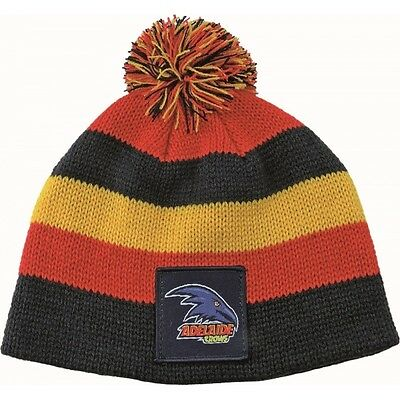 Adelaide Crows Official AFL Chunky Knit Baby Infant Beanie