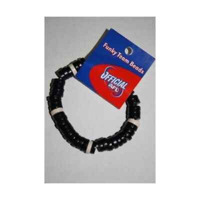 Geelong Cats Wooden Bracelet Official AFL Team Colours Blue White Jewellery