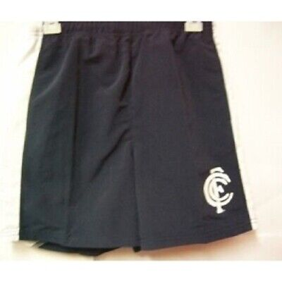 Carlton Blues Official AFL Youth Premium Board Shorts CLEARANCE