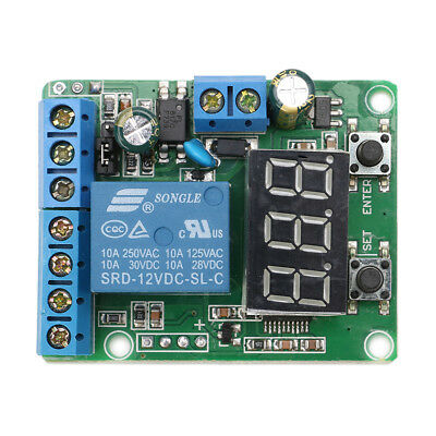 12V DC Relay Module Control Board Switch Load Voltage Detection Test Monitor