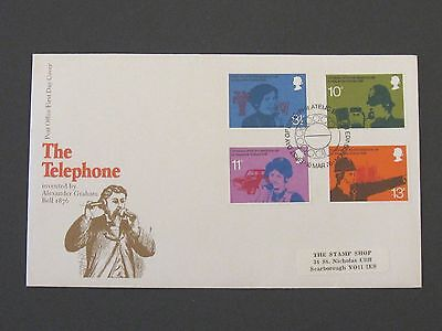 First Day Cover – The Telephone 1976