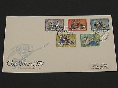 First Day Cover – Christmas 1979
