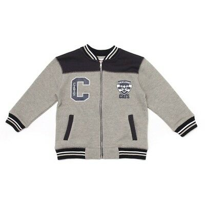 Geelong Cats Toddler Letterman Jacket Official AFL