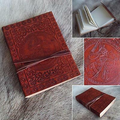 Medieval Knights Leather Journal / Diary for Re-enactment, LARP, Home or Office
