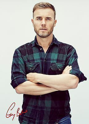 Unofficial GARY BARLOW (1) glossy A4 print Poster - Take That hot Let Shine sexy
