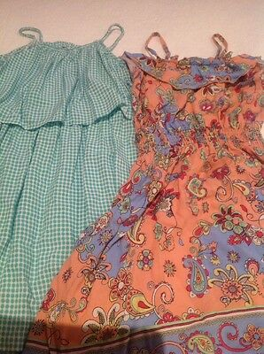 2 X Girls Summer Dresses, Size 8 & 10, Cotton On & Target