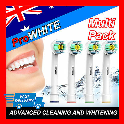 Pro White Oral B Compatible Electric Toothbrush Replacement Brush Heads x20pcs