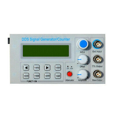 10MHz DDS Function Signal Generator Frequency Meter, Square Wave Qulse Test