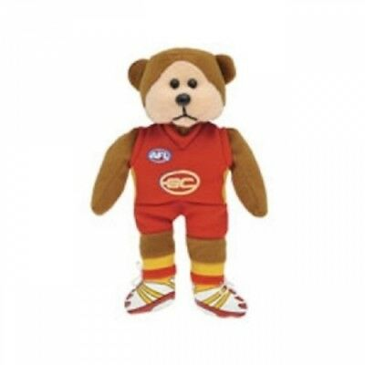 Alex the Gold Coast Suns Bear - Official AFL Beanie Kid