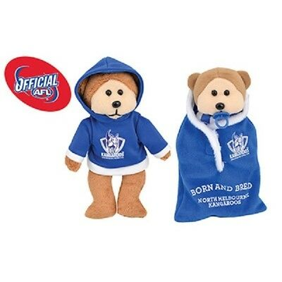 Nat the Nth Melbourne Kangaroos Bear 2015 - Official AFL Beanie Kid